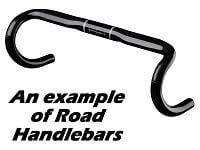 A set of Road Bike Handlebars