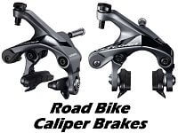 Caliper Brakes for Road Bikes