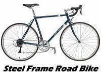 A Steel Framed Road Bike