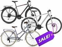 Cheap Hybrids & City Bikes