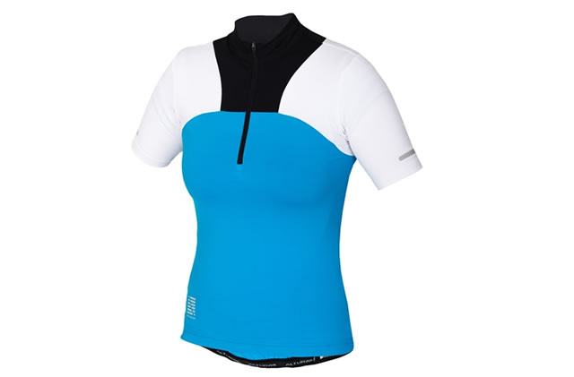 Altura Ladies Synchro Short Sleeve Cycling Jersey 18, Blue, Red