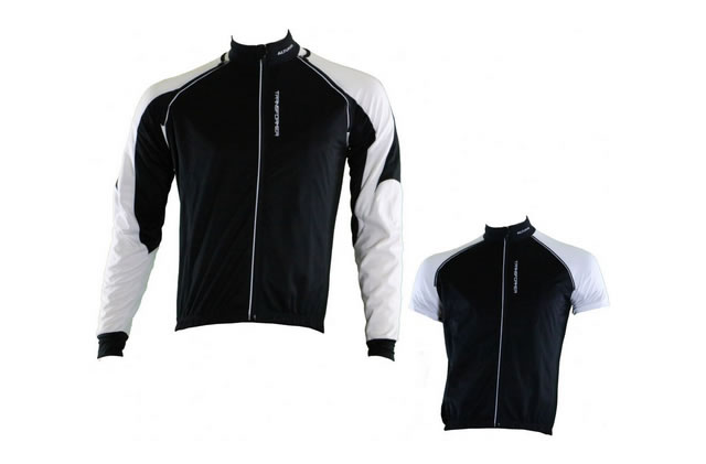 Altura Transformer Windproof Water Resistant Cycling Jacket M,Black, White