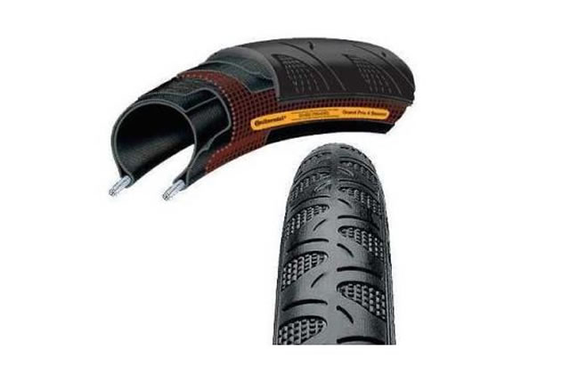 Continental Grand Prix 4 Season Folding Road Tyre 23c, 28c