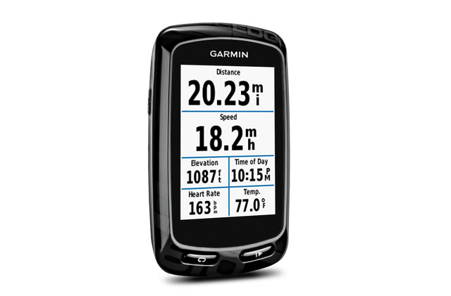 Garmin Edge 810 GPS Bike Computer with Heart Rate Monitor and Speed/Cadence Sensor