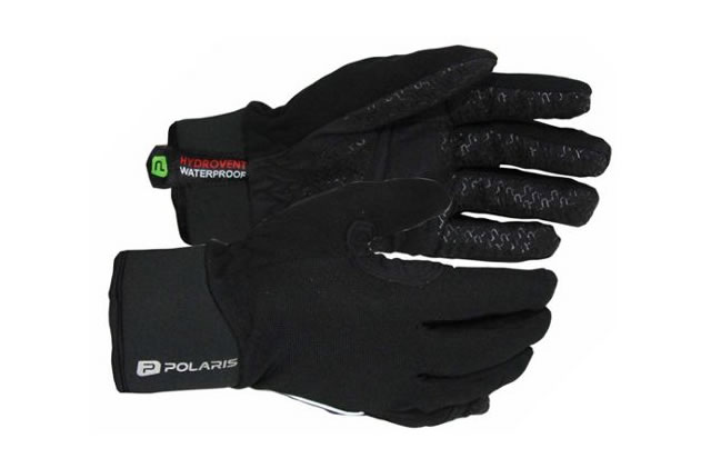 Polaris Dry Grip Full Finger Gloves M, Black, Full Finger, Neoprene