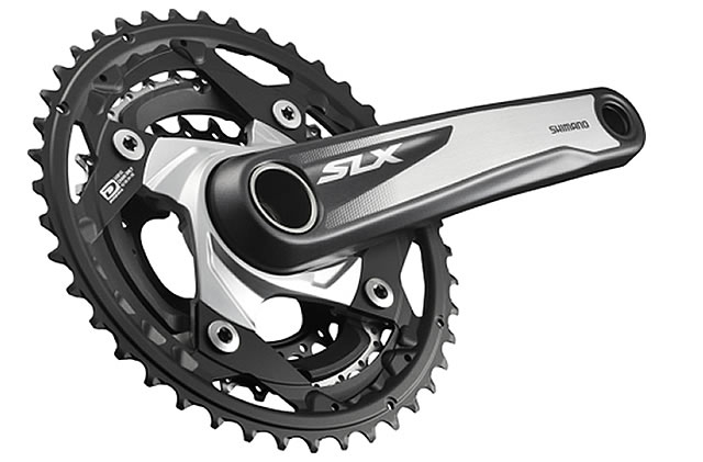 Shimano SLX M670 10 Speed Triple Mountain Biking Chainset 905g, 10 speed, 170mm, inc BB