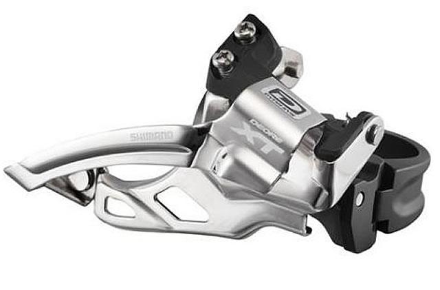 Shimano XT M785 10 Speed Double Front Mech Top Swing