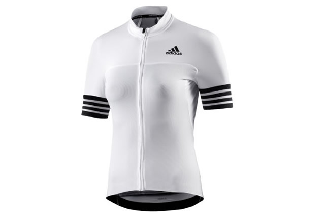 e741e5f70 Adidas Ladies Adistar White Short Sleeve Jersey was sold for £24 ...