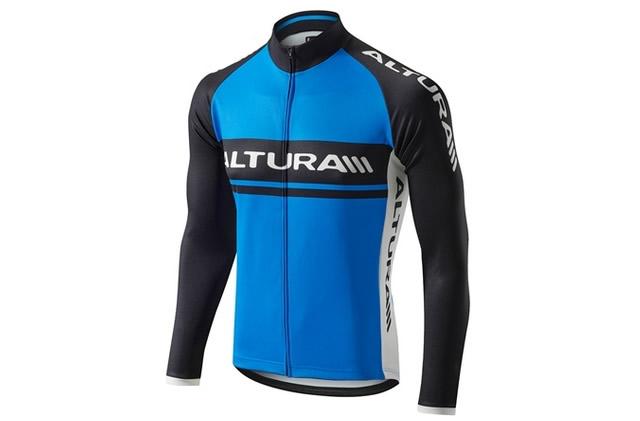 Altura Team Long Sleeve Jersey 2015 XL, Black, Blue