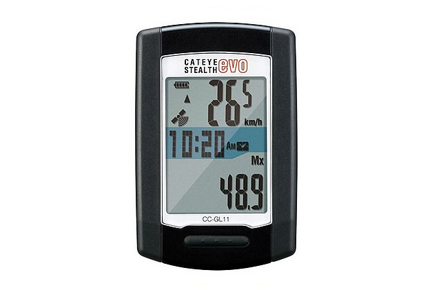 Cateye Stealth Evo Gps Computer Works with Strava