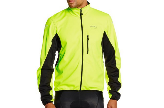 Gore Bike Element Men's Cycling Jacket S, Black, Blue, Red, Yellow
