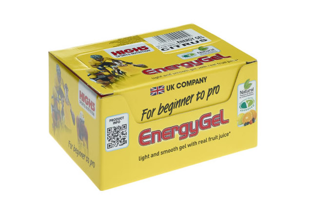 High5 Energy Gel Sachets 20 pack 20 pack