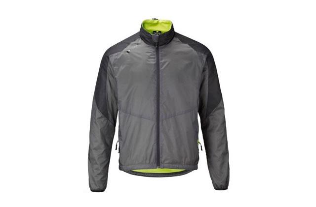 Polaris AM Vapour Windproof Jacket S, M, Grey, Men's, Long Sleeve