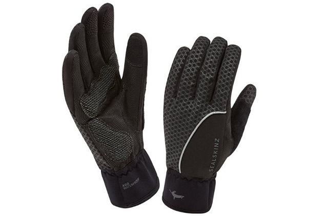 Sealskinz Men's Road Cycling Gloves Black, M, XL