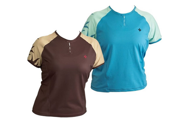 Specialized Ladies Trail Short Sleeve Jersey XS,S,M,L, Black, Blue, Brown, Red