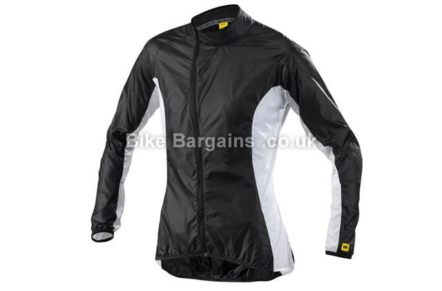Mavic Cosmic Pro Jacket XXL, Black, White, Men's, Long Sleeve, 70g
