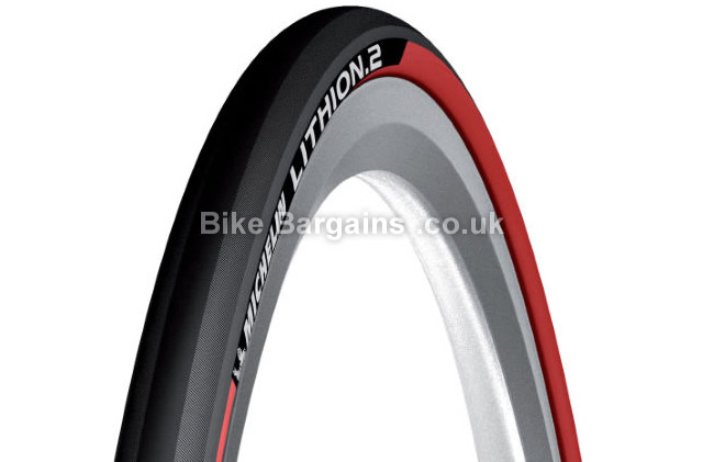 Michelin Lithion 2 Folding Road Tyre 700c,25c, inc free tube!