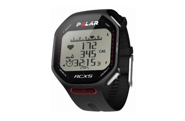 Polar RCX5 Heart Rate Watch red