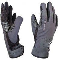 SealSkinz Performance Leather Road Full Finger Gloves
