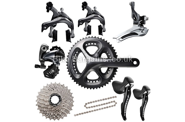 Shimano Ultegra 6800 11-Speed Groupset 170mm, 172.5mm, 175mm