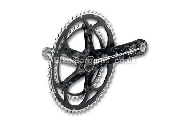 Campagnolo Centaur Carbon Power Torque Road Chainset 165mm, 10 speed