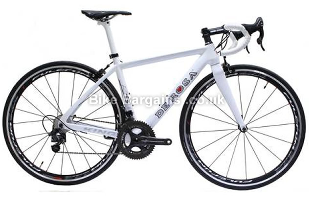 De Rosa King RS Chorus Road Bike 2014 48cm, White, Carbon, Calipers, 11 speed, 700c