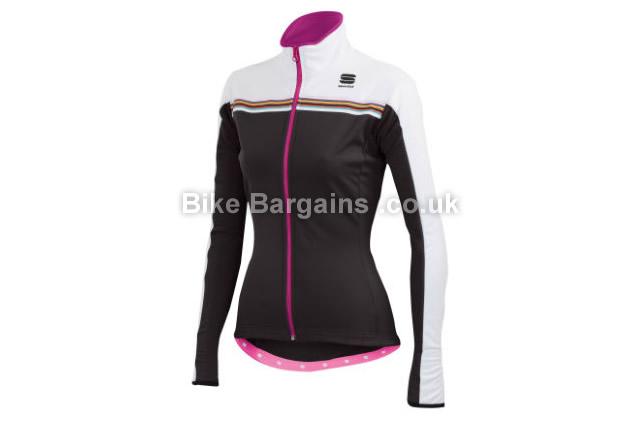 Sportful Ladies Allure Softshell Jacket L, Red, Black