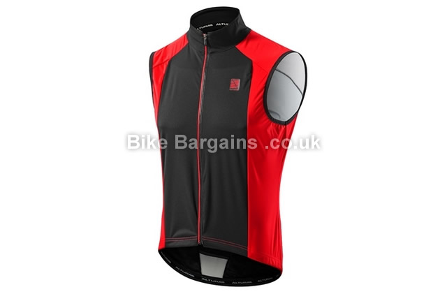 Altura Raceline Pro Road Cycle Gilet XL, Red, Black, Green