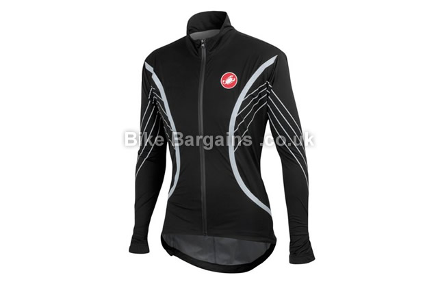 Castelli Misto Cycling Jacket M,L, Black,Yellow