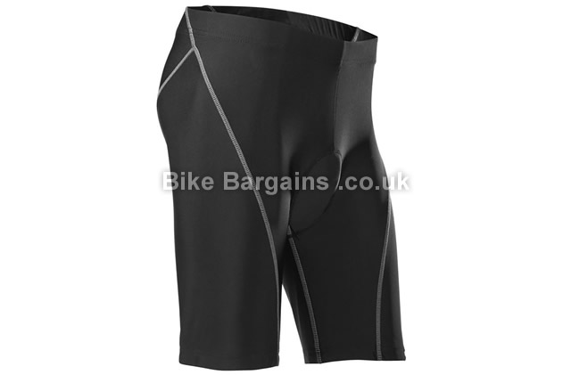 Cube Motion Black Cycling Shorts XL