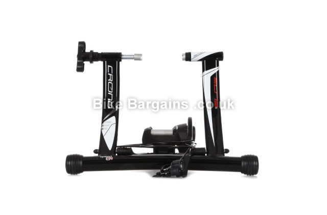 Elite Crono Mag Speed Alu Cycling Trainer Black, 5 levels resistance