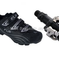 FLR F-55 MTB Shoes with Shimano M520 SPD Pedals