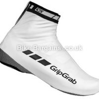 GripGrab RaceAqua White Cycling Overshoes