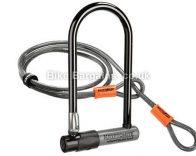 Kryptonite KryptoLok S2 Std D-Lock & 4ft KryptoFlex Cable