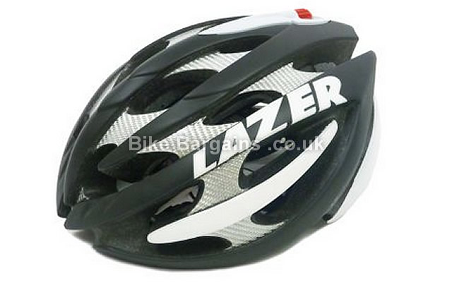 Lazer Helium Road Cycling Helmet S, Yellow, Grey, Black, White