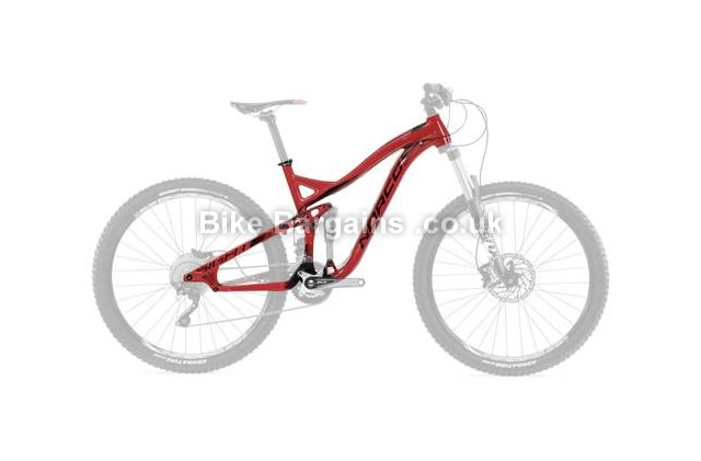 "Norco Sight A 7.1 27.5"" Alloy Full Suspension Mountain Bike Frame 2014 M, Red, 27.5"", Alloy, Full Sus"
