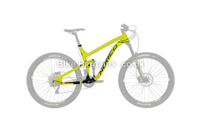 Norco Sight A 7.1 MTB Frame 2015 M, L, Yellow