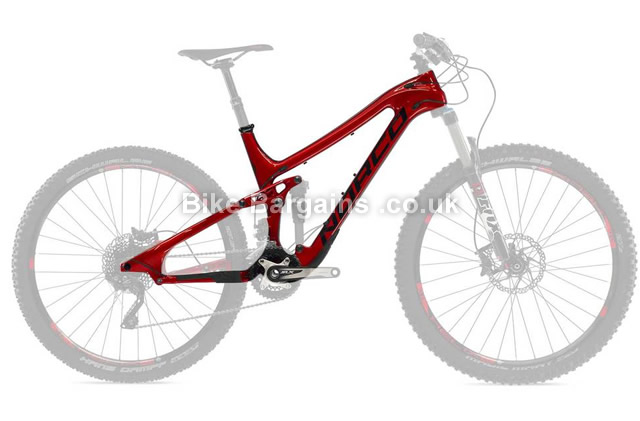 "Norco Sight C7.3 27.5"" Carbon Full Suspension Mountain Bike Frame 2015 XL, Red, 27.5"", Carbon, Full Sus"