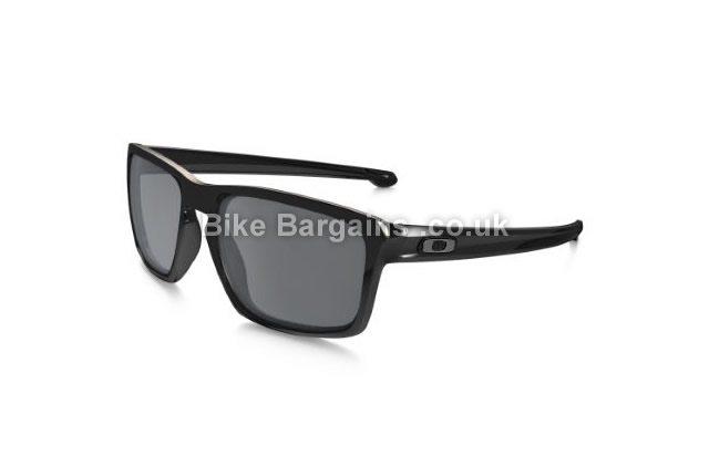 Oakley Sliver Iridium Polarised Cycling Sunglasses black