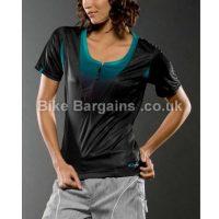 Oakley Vee Zip Ladies MTB Short Sleeve Jersey
