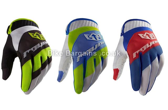 Royal Victory MTB Full Finger Gloves 2018 XS,S,M,L,XL,XXL, Black, Full Finger, Neoprene, Polyester