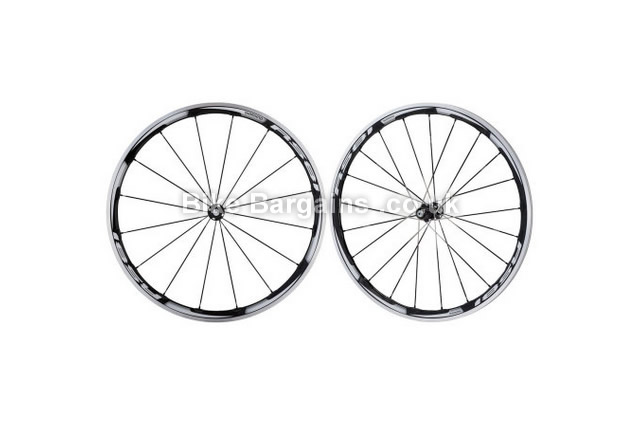 Shimano WH-RS81 C35 Carbon Laminate Clincher Road Cycle Wheelset 700c