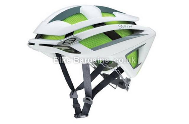 Smith Optics Overtake Road Helmet 2016 S, Green, Grey, 269g, 21 vents