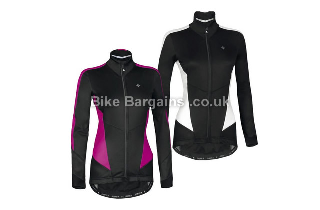 Specialized Sl Expert Winter Partial Ladies Jacket 2015 XS, Black, White, Women's, Long Sleeve