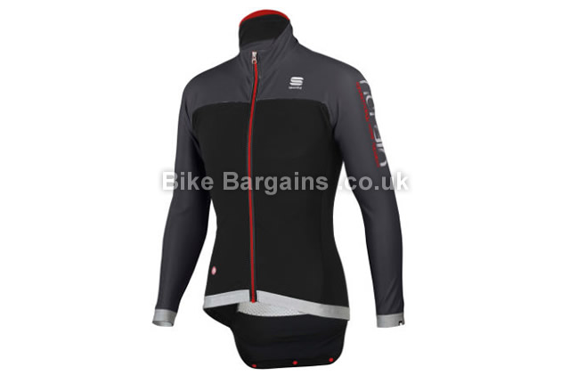 Sportful Fiandre No-Rain Cycling Jacket S, XXL, Black, Yellow