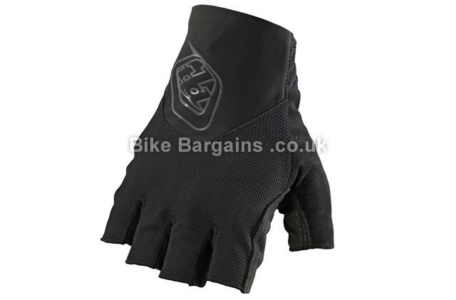 Troy Lee Designs Ace Black Fingerless Gloves S, XXL, Black