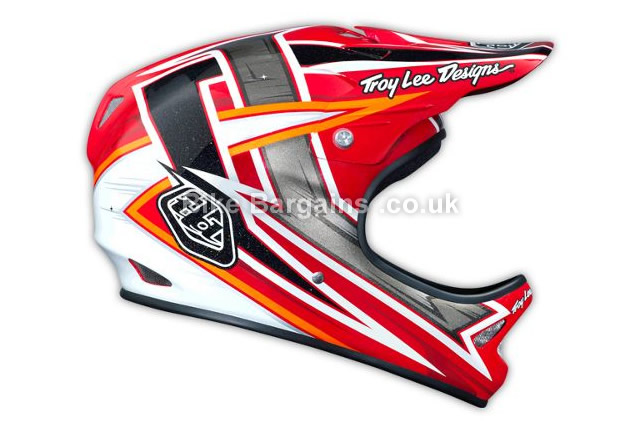 Troy Lee Designs D2 Red MTB Helmet XS,S,