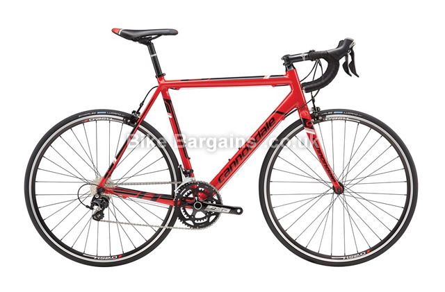 Cannondale CAAD8 105 5 Red Alloy Road Bike 2016 48cm