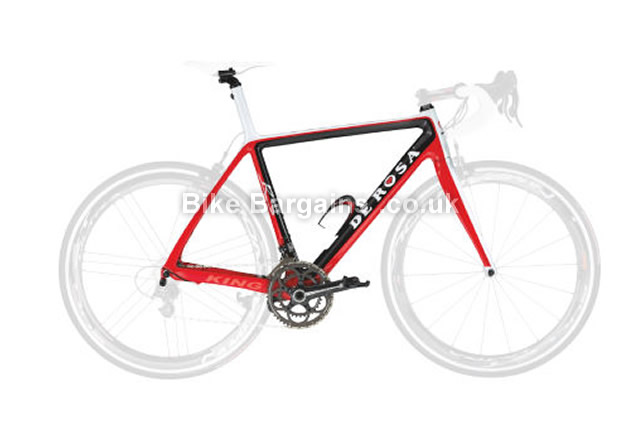 De Rosa King RS Carbon Caliper Road Frameset 2013 66cm, Red, Carbon, Caliper Brakes, 700c