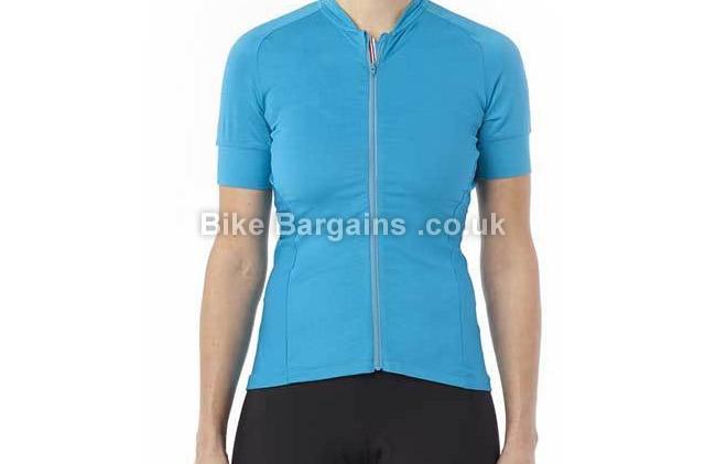 Giro Ladies Ride LT Short Sleeve Jersey L, Blue